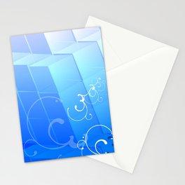 Kubik Ice Stationery Cards