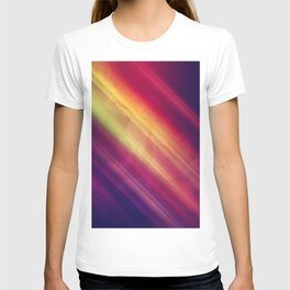 Vibrant Colorful Rays between Clouds 12 T-shirt