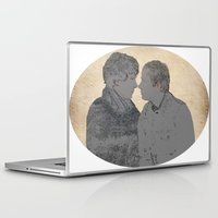 johnlock Laptop & iPad Skins featuring PRESSURE POINT  by thescudders