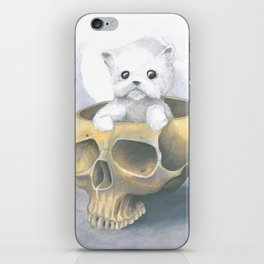 i ated all the brains iPhone Skin