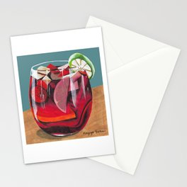 Fruit cocktail Stationery Cards
