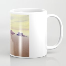Sedimentary Mountain Range Coffee Mug