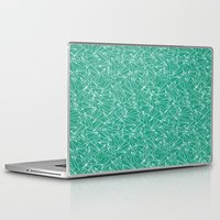 aviation Laptop & iPad Skins featuring Schoolyard Aviation Green by Dianne Delahunty