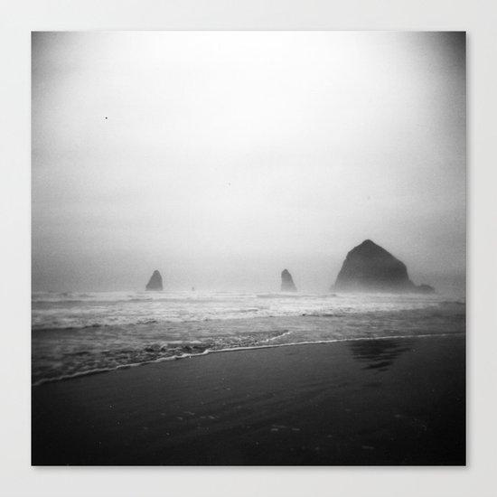 cannon beach . holga Canvas Print