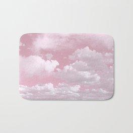Clouds in a Pink Sky Bath Mat