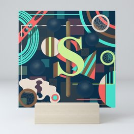 Letter S Mini Art Print