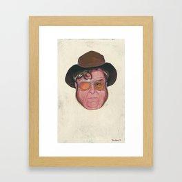"""""""Not a Good Man"""" Framed Art Print"""