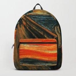 The Scream Edvard Munch Backpack