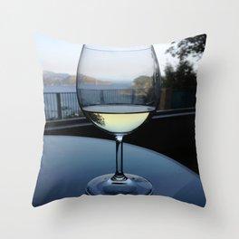 Relaxing Wine Throw Pillow