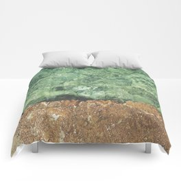 Sea contrast Comforters