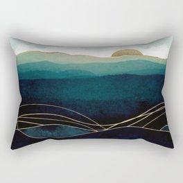 Indigo Waters Rectangular Pillow