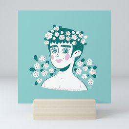 Green & Blue Mini Art Print