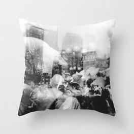 Union Square Pillow Fight Throw Pillow