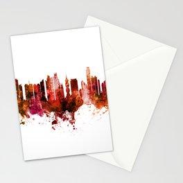 Panama City Skyline Stationery Cards