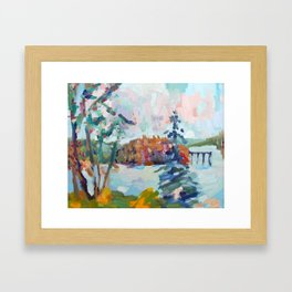 Camp Framed Art Print