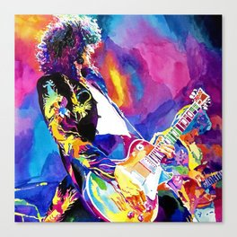 Watercolor my Jimmy Canvas Print