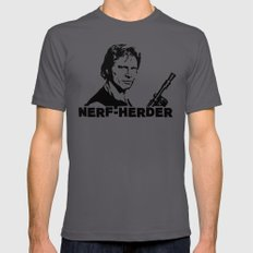 Nerf Herder  |  Han SMALL Asphalt Mens Fitted Tee