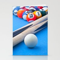 gaming Stationery Cards featuring Gaming Table by Valerie Paterson