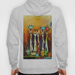 African Tribe Hoody