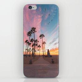 Venice Beach Nature's Fireworks iPhone Skin
