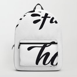 Tote Bag Design Have Faith Backpack