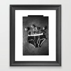 Undies Framed Art Print