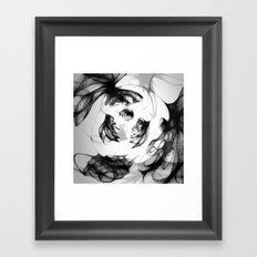 Datadoodle Flowers Framed Art Print