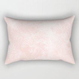 Pink Coral Marble Rectangular Pillow