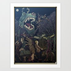 Seasons In The Abyss Art Print
