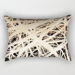 Neurons abstract art by Ann Powell Rectangular Pillow