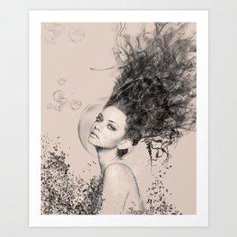 WOMAN 6 Art Print