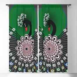 Peacock 5 Blackout Curtain
