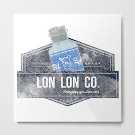 Lon Lon Co. Metal Print