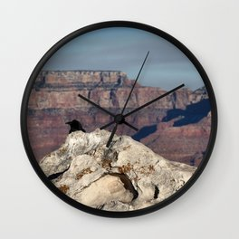 Lost in Grand Canyon Wall Clock