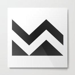 The Mountaineer Metal Print