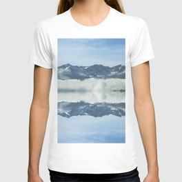 Mirrored landscape 3 pyrenees T-shirt