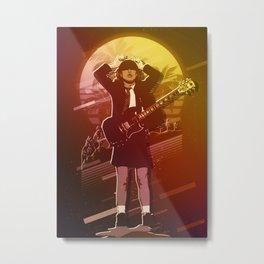 Angus Young symbol Metal Print