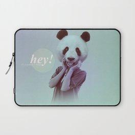 Hey! It's a Panda's Head! Laptop Sleeve