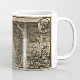 Bird's Eye View of St. Louis, Missouri (1876) Coffee Mug