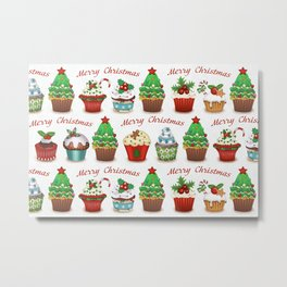 Christmas sweets Metal Print