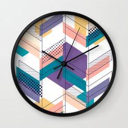 Unfinished II Wall Clock