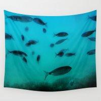 underwater Wall Tapestries featuring Underwater by Situs