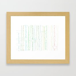 Bird Song Framed Art Print