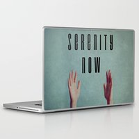 seinfeld Laptop & iPad Skins featuring Serenity Now! by Galaxy Eyes