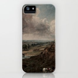 Branch Hill Pond, Hampstead by John Constable iPhone Case