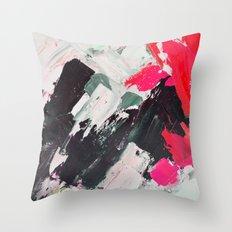Hot Pink Franz Throw Pillow