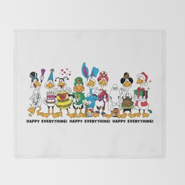 Happy Everything! Throw Blanket
