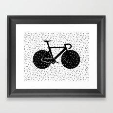 Track Bike Framed Art Print