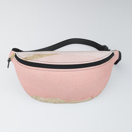 Abstract Blush Ombre Fanny Pack