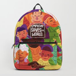 Empathy Saves The World Backpack